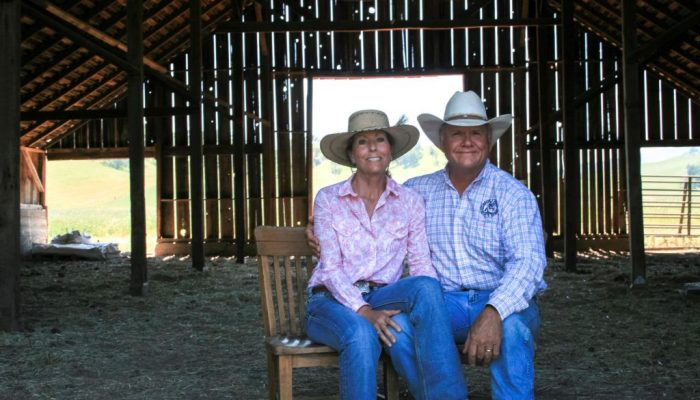 Scott and Karen Stone, Yolo Land & Cattle Co. Photo credit: CA Rangeland Trust