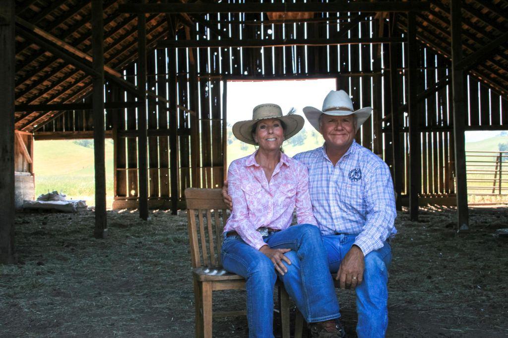 Scott and Karen Stone, Yolo Land & Cattle Co. Photo credit: CA Rangeland Trust